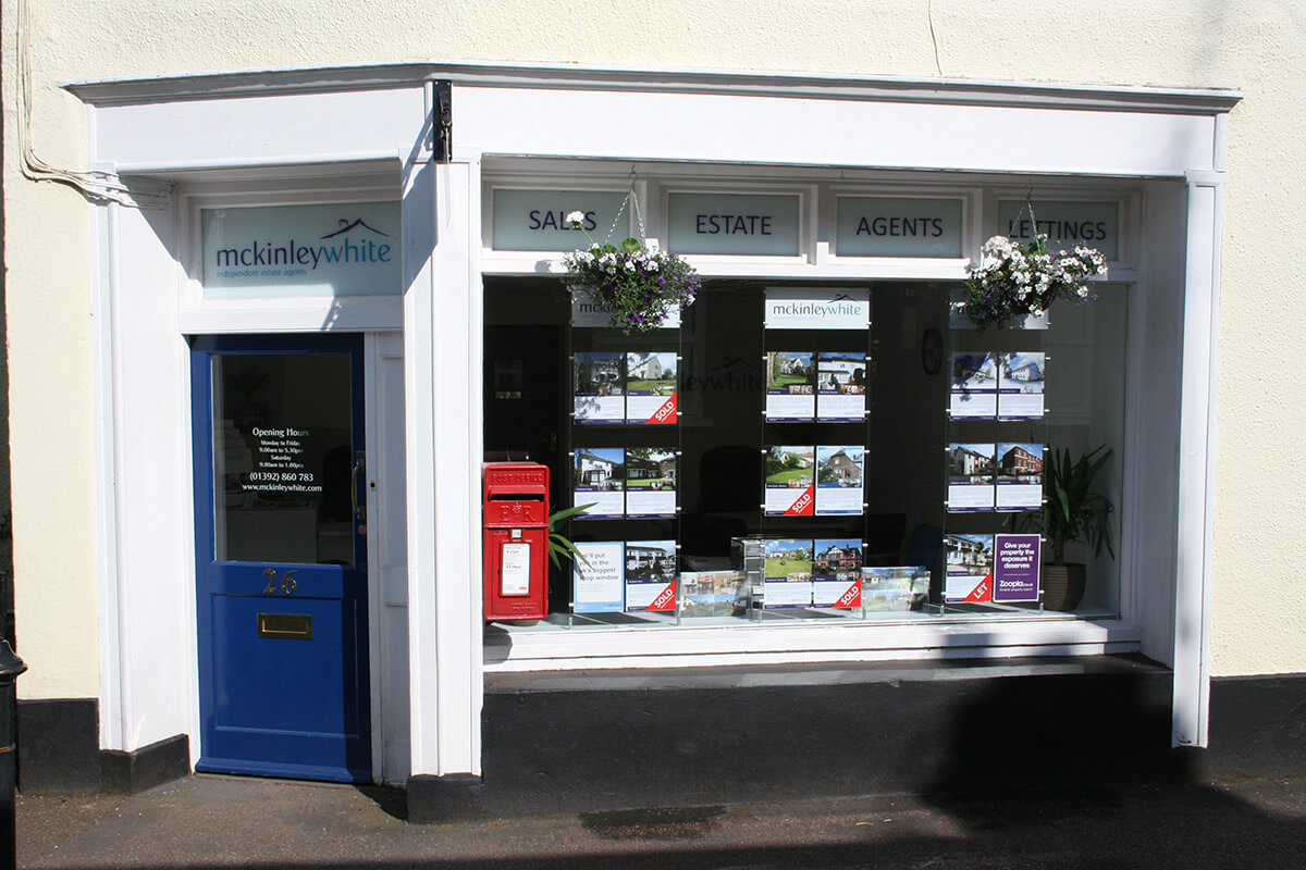 McKinley White sales office - Silverton, Exeter